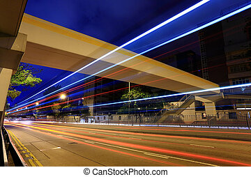 city traffic streams