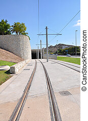 City Tram Tracks