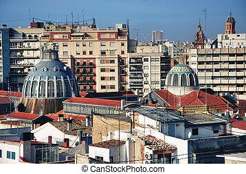 City Valencia, Central Market - Valencia, general view...