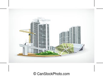 City vector illustration