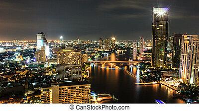 City view at Bangkok