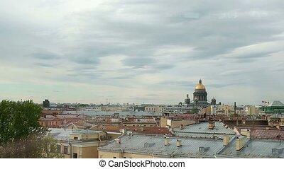City view in Saint-Petersburg