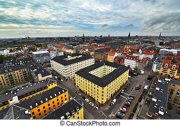 City view of Copenhagen