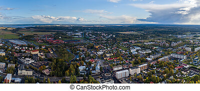 City view of Forssa, Finland