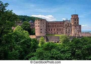 City view of Heidelberg in Germany