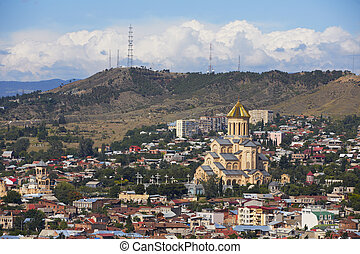 City view on Tbilisi - Capital city of Georgia