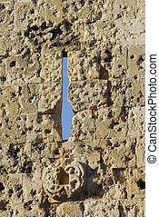 The historical Jerusalem city wall