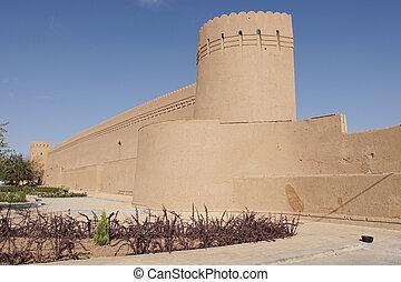 City Wall, Yazd, Iran, Asia
