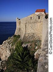 City walls of Dubrovnik, Croatia
