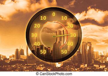 Heat wave concept