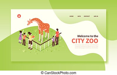 City Zoo Landing Page