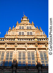 Cityhall in Bremen, Germany,
