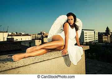 city's, 天使