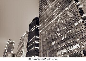 cityscape , από , μοντέρνος αναπτύσσω , εξωτερικός