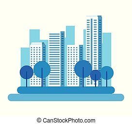 cityscape , πάρκο , φόντο