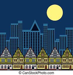 cityscape , τη νύκτα