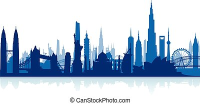 cityscape , φημισμένος , αξιοσημείωτο γεγονός , backgrou