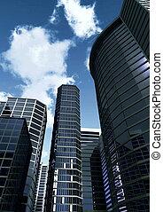 cityscape, 3d