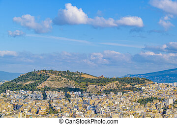 Cityscape Aerial View, Athens, Greece