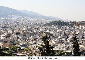 Cityscape Athens