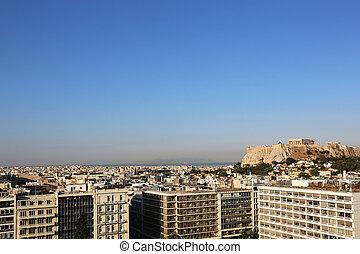 Cityscape Athens Greece