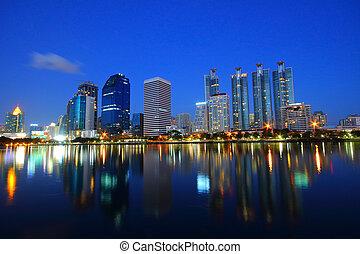 cityscape, bangkok