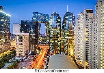 cityscape, beijijng, cbd