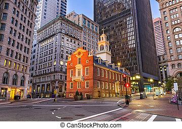 cityscape, boston, massachusetts