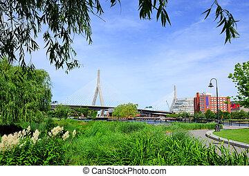 cityscape, boston
