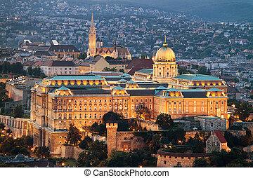cityscape, budapest, ungarn