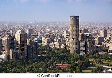 cityscape, cairo