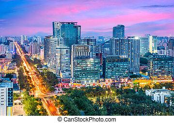 cityscape, china, beijing