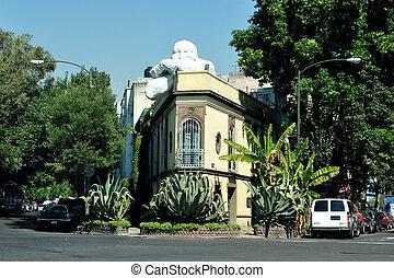cityscape, ciudad, méxico