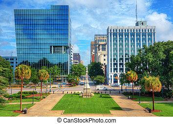 cityscape, columbia