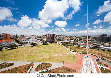 cityscape, de, pe, afrique sud