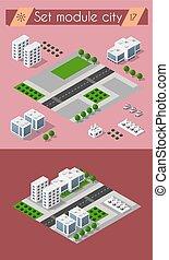 Cityscape design elements