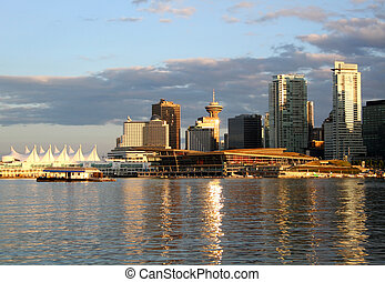 cityscape, en ville, vancouver
