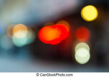 cityscape eve bokeh - abstract cityscape background of...