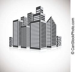 cityscape, fond