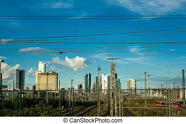 cityscape, francfort
