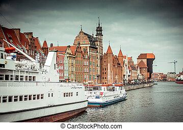 Cityscape,  Gdansk