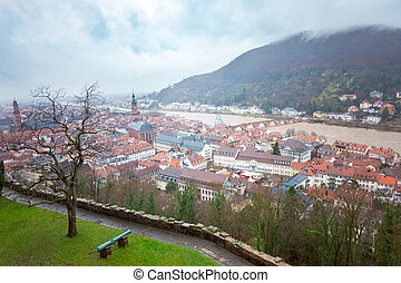 cityscape, heidelberg