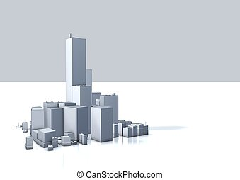 cityscape illustration