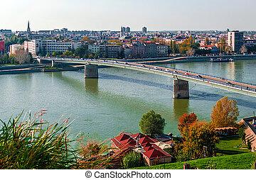 Cityscape in Novi Sad, Serbia 2