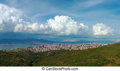 Cityscape Izmir turkey