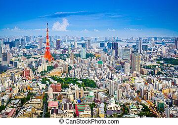 cityscape, japón, tokio