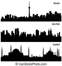 cityscape, komplet