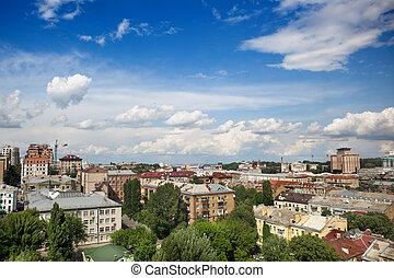 cityscape, kyiv, zentrieren