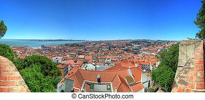 cityscape, lisboa, portugal