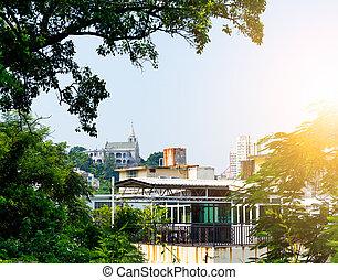 cityscape, macao